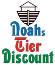 Logo of Noahs Tier Discount